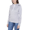 Craft In-The-Zone hoody Dames grijs